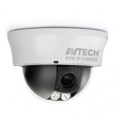 AVtech AVM332 Infrarood Dome netwerkcamera 1,3 Megapixel