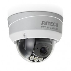 AVTech AVM543 Vari-focus dome IP-Camera 2 Megapixel Infrarood