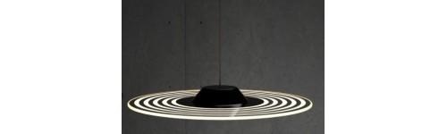 Adot Halo LED hanglamp 17W warm-wit
