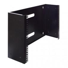 19 inch 8U patch-bracket zwart 215 mm. diep