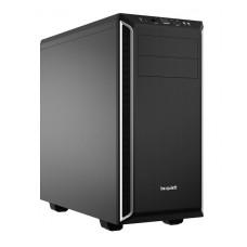 BeQuiet PureBase 600 midi-tower behuizing zwart met zilver