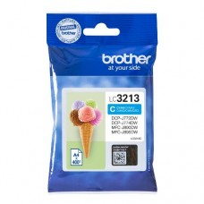 Brother inktcartridge LC-3213C cyaan