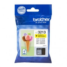 Brother inktcartridge LC-3213Y geel