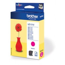 Brother inktcartridge LC-121M magenta
