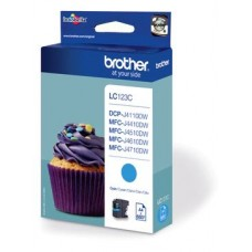 Brother inktcartridge LC-123C cyaan