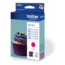 Brother inktcartridge LC-123M magenta