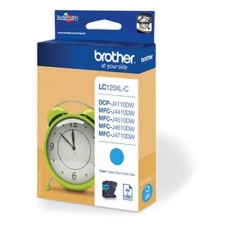 Brother inktcartridge LC-125XLC cyaan