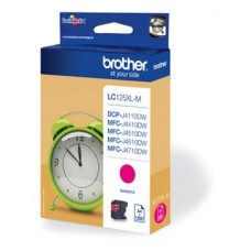 Brother inktcartridge LC-125XLM magenta