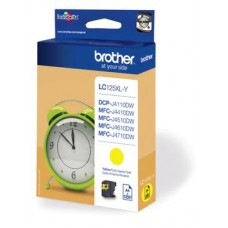 Brother inktcartridge LC-125XLY geel