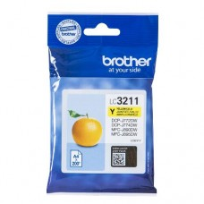 Brother inktcartridge LC-3211Y geel