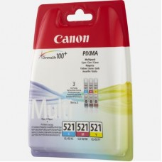 Canon CLi-521 ColorPack C+M+Y