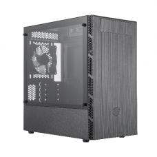 CoolerMaster MasterBox MB400L mini-tower behuizing zwart met 5¼ inch inbouw-slot