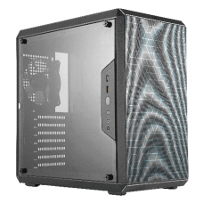 CoolerMaster MasterBox Q500L mini-tower behuizing zwart