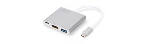 Digitus USB type-C naar HDMI adapter