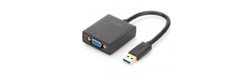 Digitus USB 3.0 naar VGA adapter