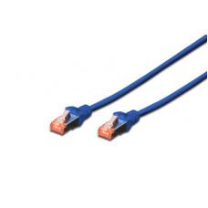 Cat.6 SFTP 0,25 m. blauw