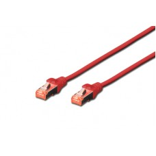 Cat.6 SFTP 0,25 m. rood