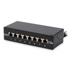 Digitus desktop patchpanel 5 poort Cat.5e