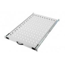 Digitus 19 inch uitschuifbare legplank voor 100 cm. diepe patchkast lichtgrijs