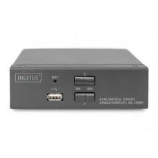 Digitus DS-12870 4K HDMI KVM switch, 2 poorten