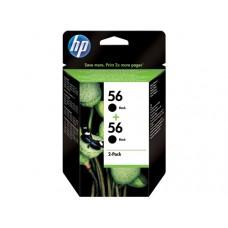 HP inktcartridge 2x nr.56 origineel zwart (C9502A)