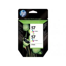 HP inktcartridge 2x nr.57 origineel kleur (C9503A)