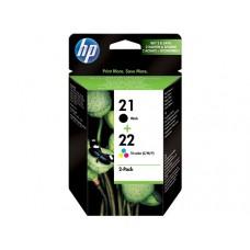 HP inktcartridge nr.21 & 22 origineel zwart + kleur (SD367AE)