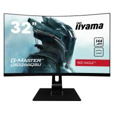 IIyama G-Master gebogen 31,5 inch monitor GB3266QSU-B1 met AMD FreeSync