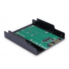 3½ inch tray voor M.2 SATA SSD