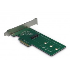 PCIexpress x4 adapter voor M.2 NVMe SSD