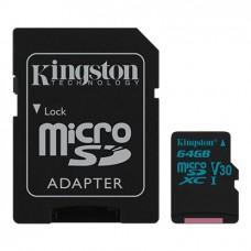 Kingston Canvas Go! MicroSD 64 GB