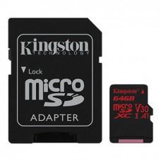 Kingston Canvas React MicroSD geheugenkaart 64 GB