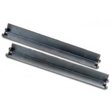 Lande 19 inch L-support rails voor 80 cm. diepe patchkasten