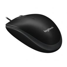 Logitech B100 optische muis bedraad