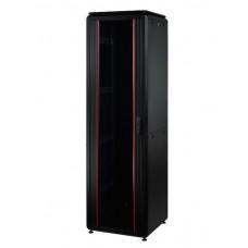 Mirsan 19 inch staande patchkast 42U zwart