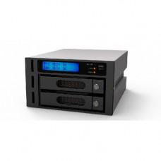 Raidon InTank iR2622 RAID unit voor 2x 3½ inch of 2½ inch harde schijf of SSD