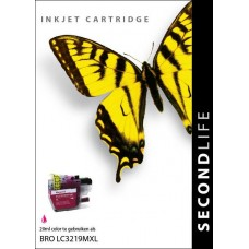 SecondLife compatible inktcartridge Brother LC-3219XLM magenta