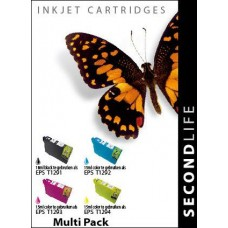 SecondLife compatible multi-pack Epson T1295