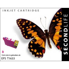 SecondLife compatible inktcartridge Epson 16XL magenta (T1633)