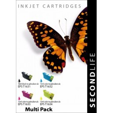 SecondLife compatible multi-pack Epson 16XL (T1636)