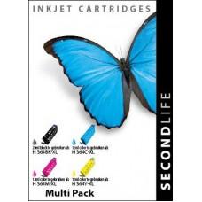 SecondLife compatible inktcartridge HP nr.364XL ValuePack