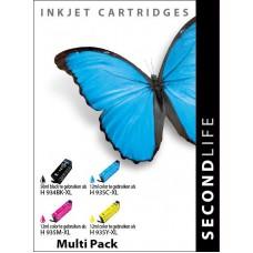 SecondLife compatible inktcartridge HP nr.934+935 ValuePack