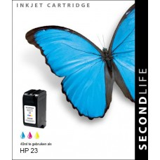 SecondLife compatible inktcartridge HP nr.23 kleur (C1823A)
