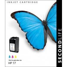 SecondLife compatible inktcartridge HP nr.17 kleur (C6625A)