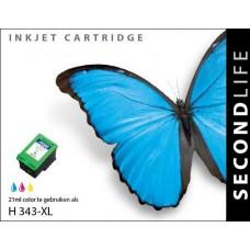 SecondLife compatible inktcartridge HP nr.343 kleur (C8766EE)