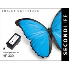 SecondLife compatible inktcartridge HP nr.339 zwart (C8767E)