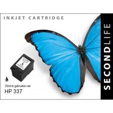 SecondLife compatible inktcartridge HP nr.337 zwart (C9364EE)