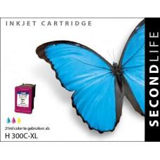 SecondLife compatible inktcartridge HP nr.300XL kleur (CC644EE)