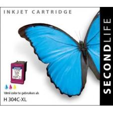 SecondLife compatible inktcartridge HP nr.304XL kleur (N9K07AE)