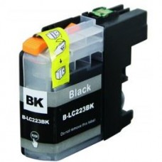 SecondLife compatible inktcartridge Brother LC-223BK zwart